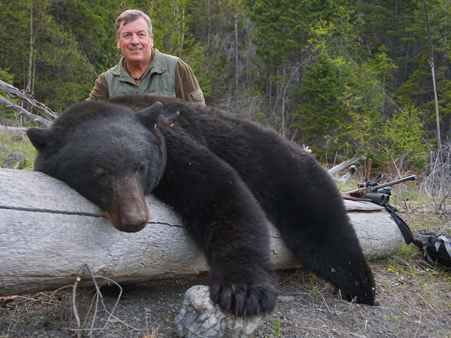 Black Bear Hunt with BC Trophy Mountain Outfitters
