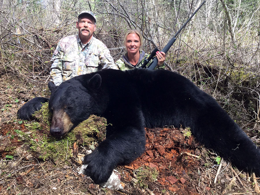 Bear Hunt with Caribou Mountain Outfitters