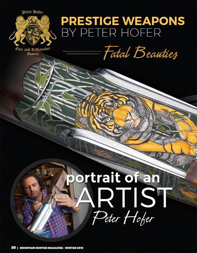 Winter 2016 - Artist Peter Hofer
