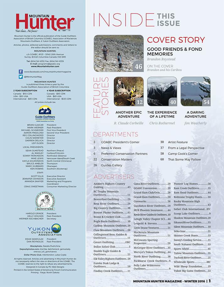 Winter 2015 Issue
