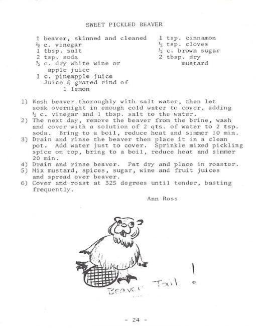 Hunter's Kitchen Cookbook