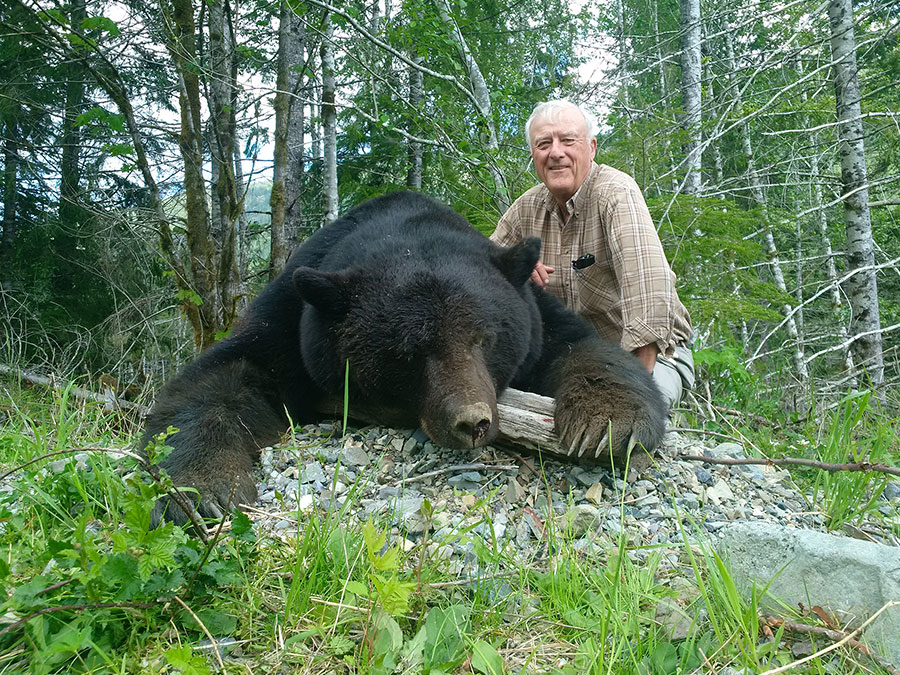 Black Bear Hunt with Vancouver Island Outfitters