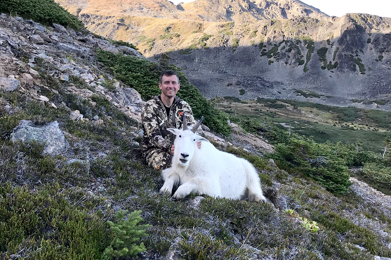 Mountain Goat Hunt with Circle M Outfitters