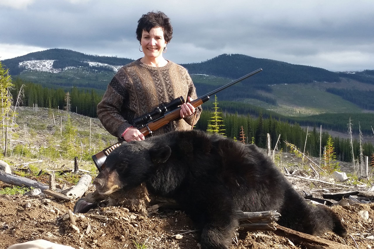 Black Bear Hunt with Ashnola Guides